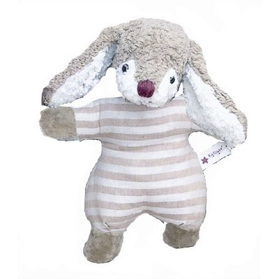 Challenge & Fun Kallisto Bunny Baby Rattle Organic Stuffed Animal