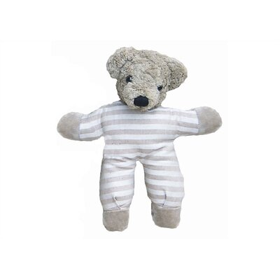 Challenge & Fun Kallisto Bear Baby Rattle Organic Stuffed Animal