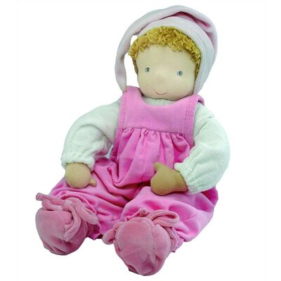 Challenge & Fun Furnis Sarah Doll With Cradle