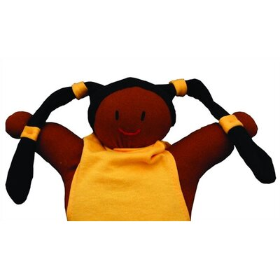 Challenge & Fun Keptin-Jr Organic Girly African American Doll in Yellow