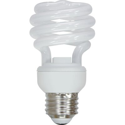 13W Energy Smart Mini Spiral CFL Light Bulb
