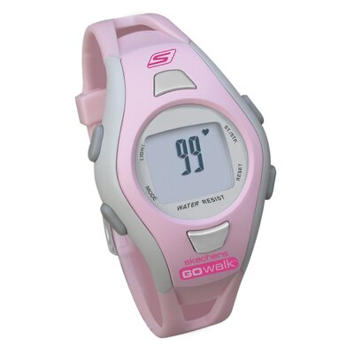 Skechers Go Walk Classic Ladies Heart Rate Monitor