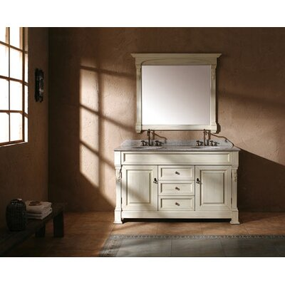 "James Martin Furniture Brookfield 60"" Double Bathroom Vanity Set"