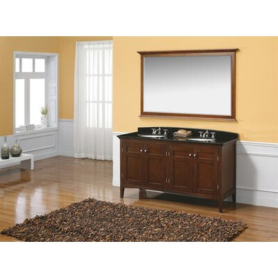 "James Martin Furniture Vivian 60"" Double Bathroom Vanity"