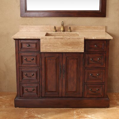 "James Martin Furniture 48"" Single Bathroom Vanity Set"