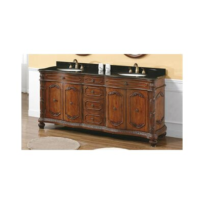 "James Martin Furniture Park Avenue 72"" Double Bathroom Vanity Set"