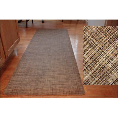 Designer 2' x 6' Kitchen & Comfort Mat in Chesterfield
