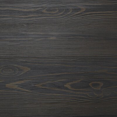 "Mats Inc. Floorworks Luxury 6"" x 36"" Vinyl Plank in Antique Zebra Wood"