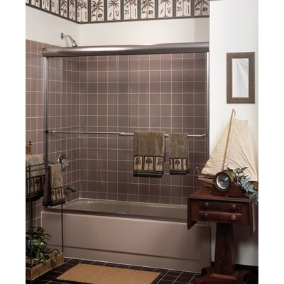 Coastal Shower Doors Paragon Frameless Sliding Shower Door 3/16""