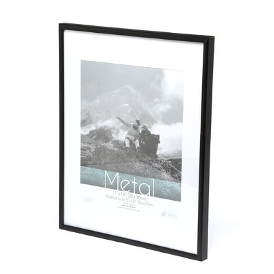 Metal Matted Photo Frame