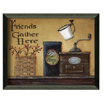 <strong>Timeless Frames</strong> Friends Gather Here Art Print Wall Art