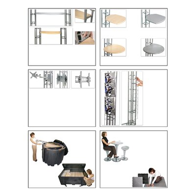 Exhibitor's Hand Book Internal Shelving for Expo Truss Kits