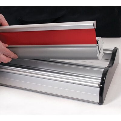Exhibitor's Hand Book Advance Double-Sided Banner Stand
