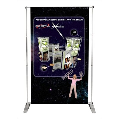 Orbus Inc. Two Way Telescopic Pegasus Banner Stand