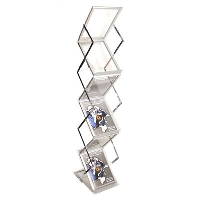 Orbus Inc. ZedUp Lite Collapsible Literature Rack