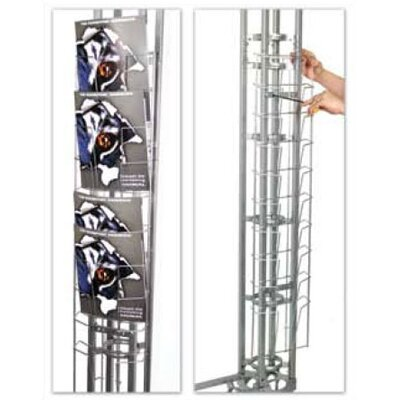 Orbus Inc. Opti Literature Rack for Exp Truss Displays