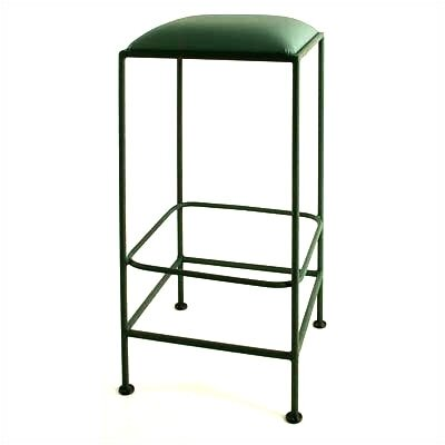 "Grace Collection 24"" Square Backless Counter Stool"