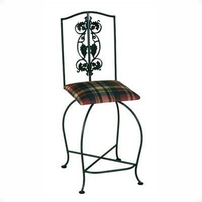 "Grace Collection Grapes/Contempo 24"" Swivel Stool"