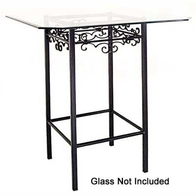 Grace Collection Gothic Counter Height Bistro Table Base