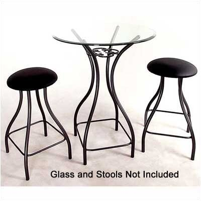 Grace Collection Contempo Counter Height Pub Table Set