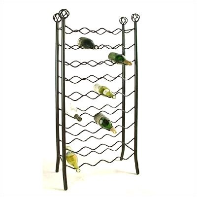 Grace Collection 36 Bottle Wine Rack