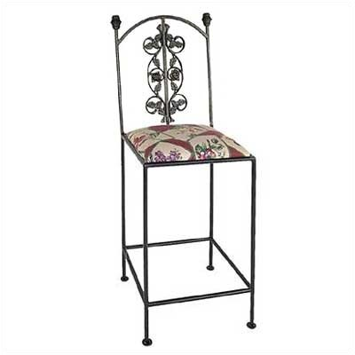 "Grace Collection Rose 24"" Bar Stool"