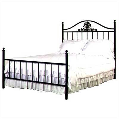 Coronet Wrought Iron Bed