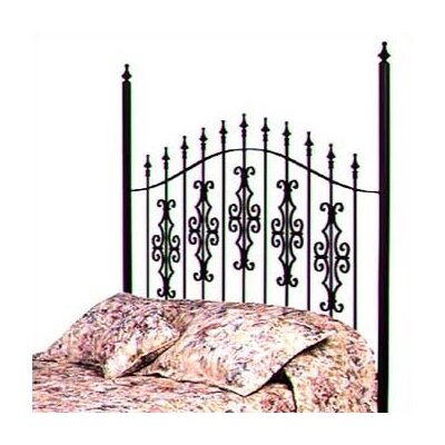 Gothic Gate Wrought Iron Headboard