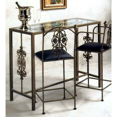 Grace Collection Garden Counter Height Pub Table