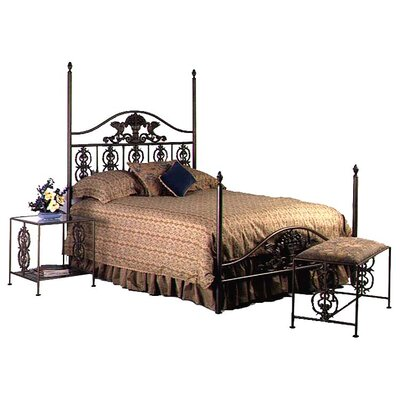 Grace Collection Harvest Wrought Iron Bed
