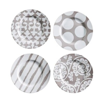Rosanna Rue Du Bac Salad Plates (Set of 4)