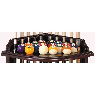 The Level Best Corner Pool Cue Rack