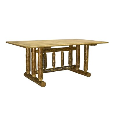 Montana Woodworks® Glacier Country Trestle Dining Table