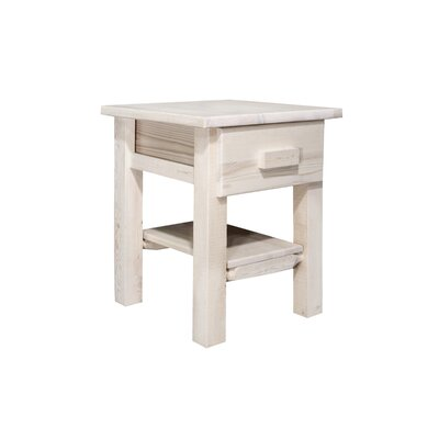 Montana Woodworks® Homestead 1 Drawer Nightstand