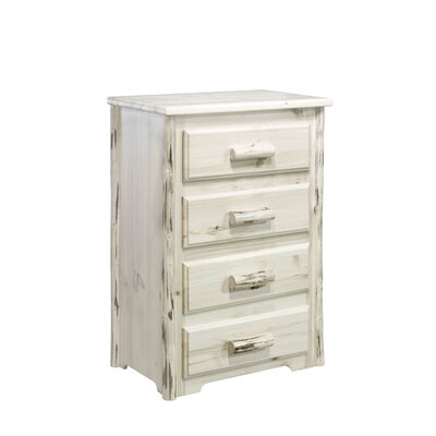 Montana Woodworks® Montana 4 Drawer Chest