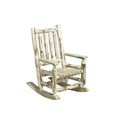 Montana Log Child's Rocking Chair