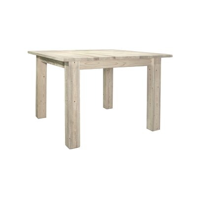 Montana Woodworks® Homestead Dining Table 4 Post