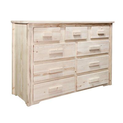 Montana Woodworks® Homestead 9 Drawer Dresser
