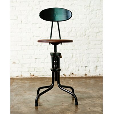 District Eight Design V19R Adjustable Bar Stool