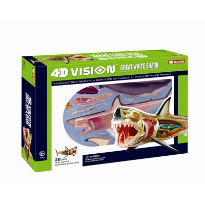 Tedco Toys 4D Vision Great White Shark Anatomy Model
