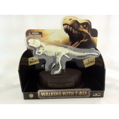 Tedco Toys Dino Walking Glow-In-Dark T-Rex