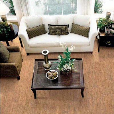 "Wicanders Corkcomfort 5-1/2"" Engineered Cork Flooring in Traces Spice"