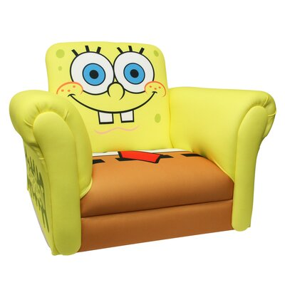 Harmony Kids Nickelodeon Sponge Bob Square Pants Deluxe Kid's Rocking Chair