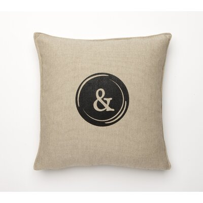 Corona Decor Fine Linen Typewriter Pillow