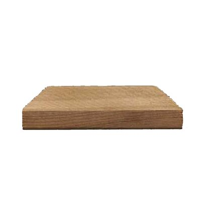 "Terratec 2"" x 4"" Flat Western Red Cedar Post Cap"