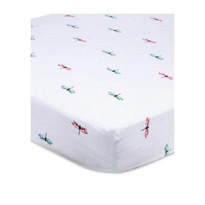 aden + anais Organic Fitted Crib Sheet