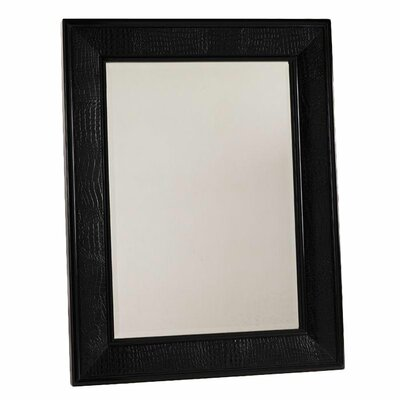 Henry Link Trading Co. Cameroon Wall Mirror in Black