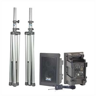 Anchor Audio Explorer Pro Dual Deluxe Package PA System