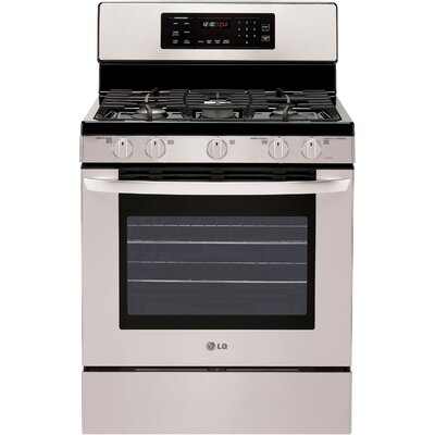5.4 cu. Ft. Freestanding 5-Burner Gas Range