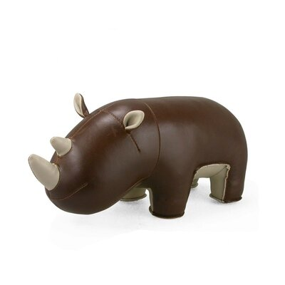 Zuny Hino the Rhino Bookend